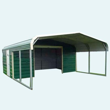 Prefabricated Steel Roof Frame Canopy Metal Structure For ...