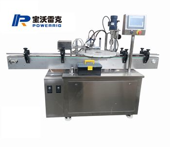 30ml e- cigarette liquid filling capping machine