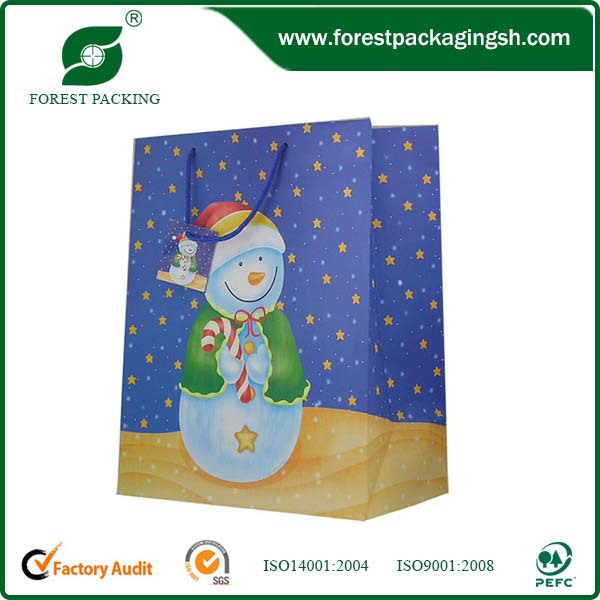 China wholesale cheap branded paper bag