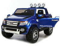 Licensed FORD RANGER Two Seats Parental Remote Kids Ride On Car with EVA Tyre, Leather Seat