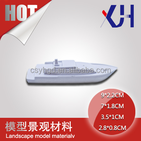 1:50~1:500 Scale Boat Outdoor Architectural Model Material 2*0.5 /5*1.6/3.5*1.2/6.8*1.5/ho scale model