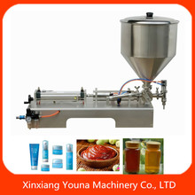 semi automatic toothpaste tube filling machine for small business
