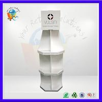 functional corrugated cardboard furniture ,fully customized display stand ,fun animal shapes paper supermaket shelf