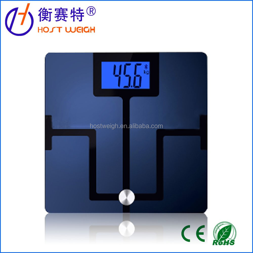 Electronic body scale support iOS & Andriod system/bluetooth scale/weighing scale