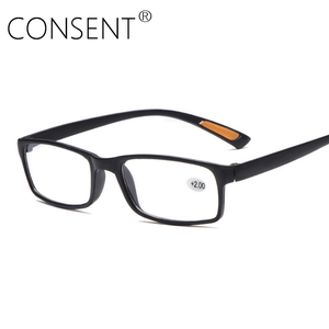 Customized presbyopic plastic cheap adjustable computer reading glasses designer classic anti-slip presbyopic glasses