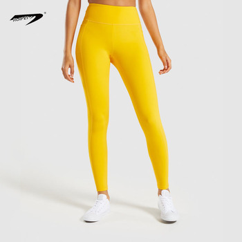 3da5132365d62 2019 Women Fitness Compression Yoga Gym Tights Leggings With Pockets Pants  OEM Custom Wholesale Factory