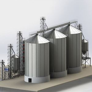 1000Ton Vertical Food Wheat Corn Maize Storage Grain Silo Price