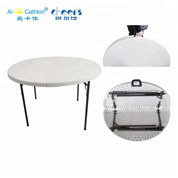 Astonishing Round 6 Seater Plastic Folding Table And Chair Portable Folding Table Mesas Redondas Para Fiestas Buy Round Folding Tables Plastic Round Pdpeps Interior Chair Design Pdpepsorg