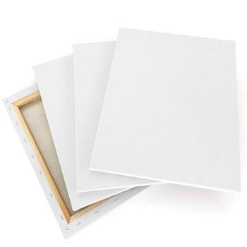 "11""x14"" Primed 100% Cotton Stretched White Blank Canvas"