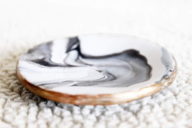 Marbled Ring Dish, Ring Holder, Clay Ring Dish, Jewelry Dish, Marble Ring Dish, Marble Bowl, Wedding Ring Dish, Marble Tray, Jewelry Display