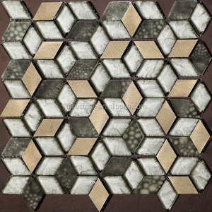 crystal color glass mosaic,marble mosaic,golden select glass and stone mosaic wall tiles backsplash