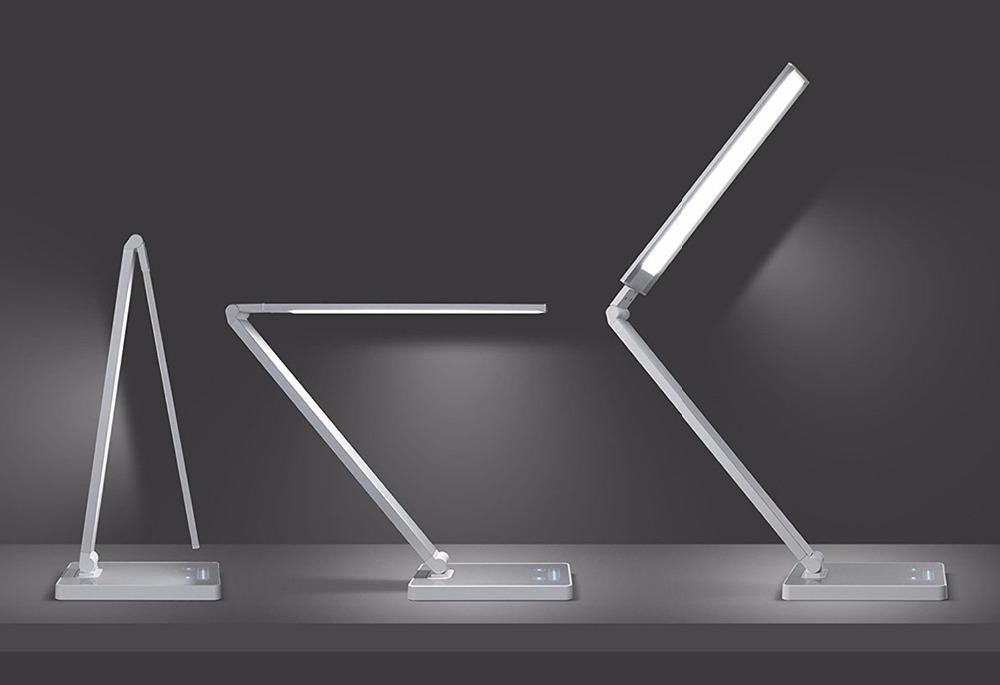 Led folding dimmer LED table Touch Portable lamp sliding Eye POkXZiuT