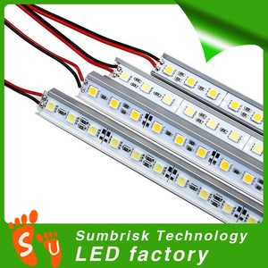 Hot sale DC 12V led strip rigid bar 5050 5630 7020