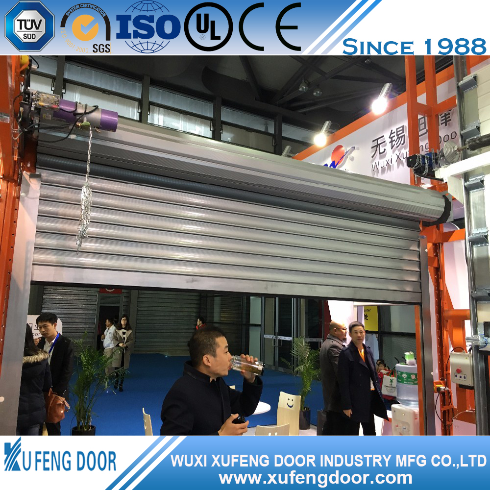 Secure Aluminum Rapid Hard Industrial Commercial Rolling Door