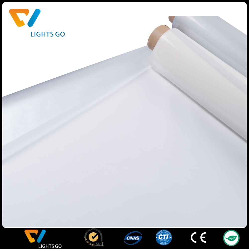 silver high temperature reflective printing vinyl film