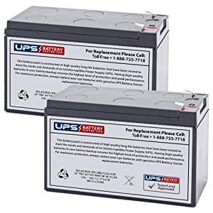 12V 8Ah APC Back-UPS 800, BX800-CN, RS800, XS800 UPS Replacement Battery - 2 Pack
