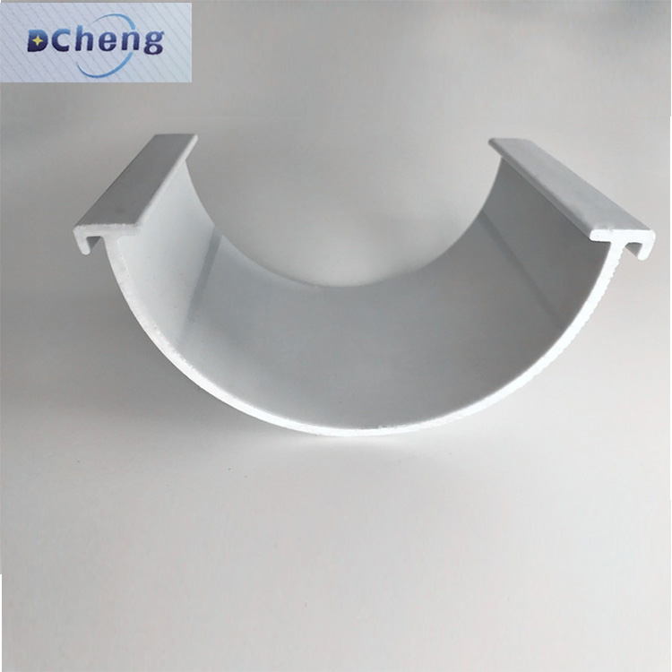 PVC plastic shock absorption bottom price best-selling pvc decorated profiles