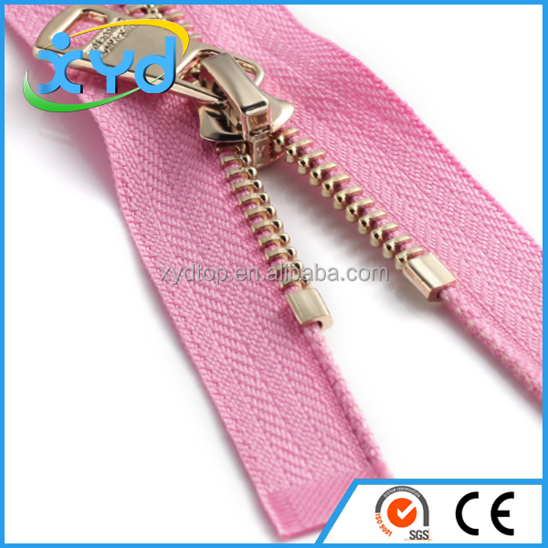 Top Quality long chain nylon zipper zippers invisible