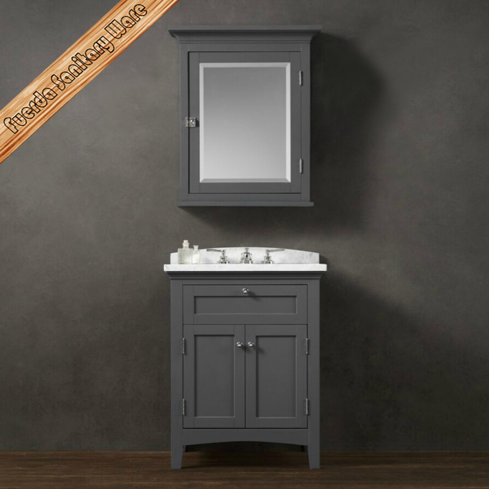 Floor Mounted Classical Hotel Bathroom Vanity Base Cabinet