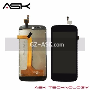 Black Color Albaba 4.5inch LCD Display With Touch Screen Digitizer For Acer Liquid Z330 Lcd Assembly