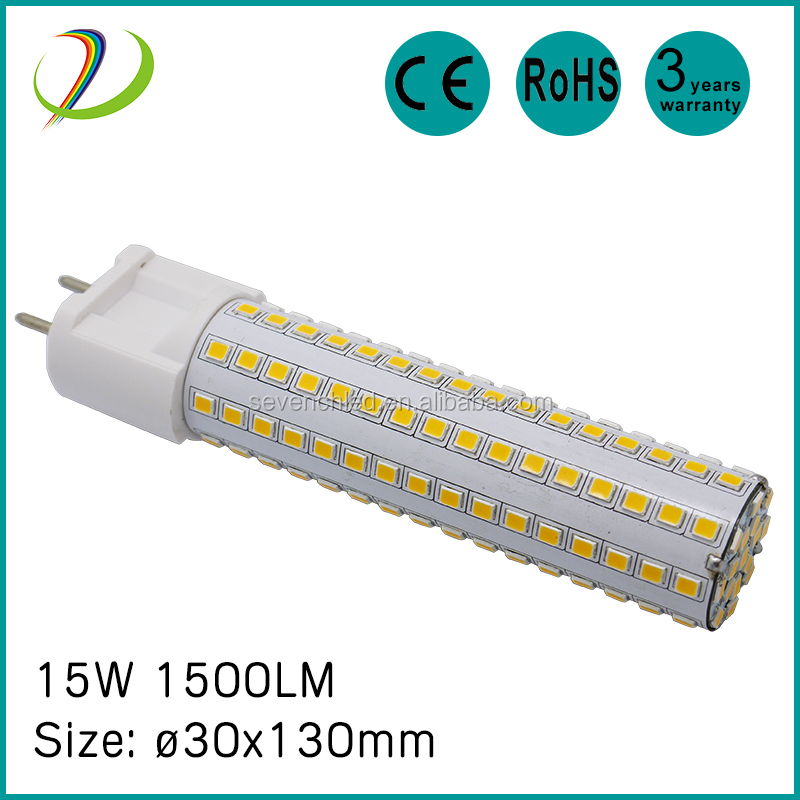 Ship to USA PF>0.95 high lumen g12 led lamp CE RoHS 360 degree direct buy china new 15w led g12