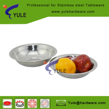 whole sale professional stainless steel dish/plate