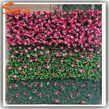 2017 Factory Price Artificial Flower For Wall Decoration Silk Flower