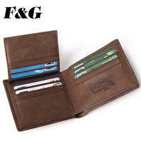 vintage wallet leather men handmade men's purse