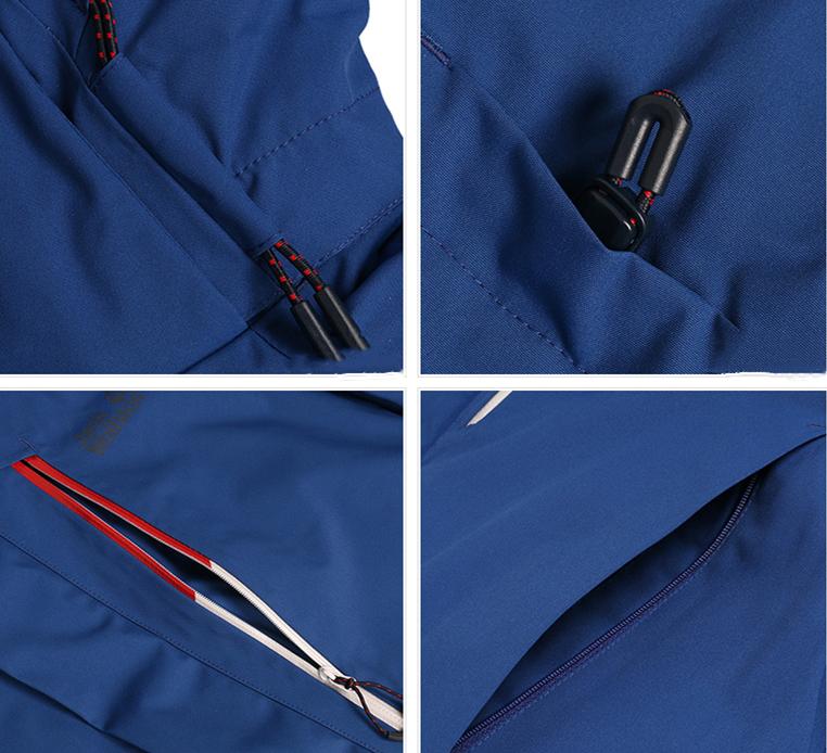man waterproof outdoor clothing ski jacket mens sport wear