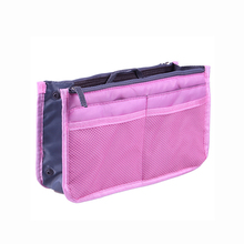 Hot Selling New Arrival Wholesale Travel Nylon bag in bag handbag organizer