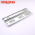 Furniture hardware telescopic soft close ball bearing dining table extension drawer slide rails