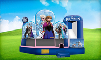 hot sale cheap commercial wholesale inflatable frozen bouncer house for sale QHB152