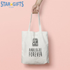 Custom Recyclable Cotton Standard Size Reusable Eco Logo Printed Canvas Shopping Bag