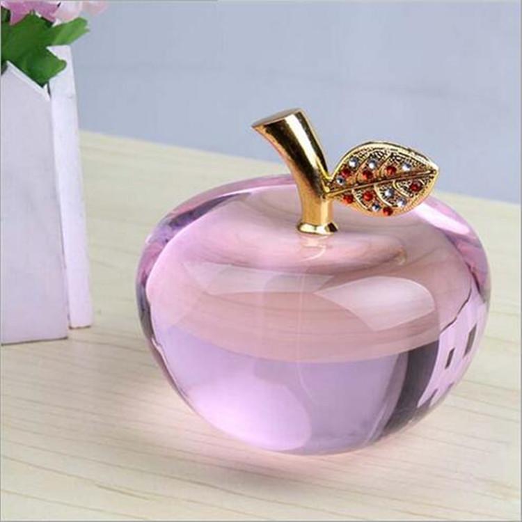 Finden Sie Hohe Qualität Glas Kristall Apfel Lila Hersteller und ...