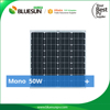 2016 high quality ISO much cheaper price 50w solar panel 12v 50w mono pv panel