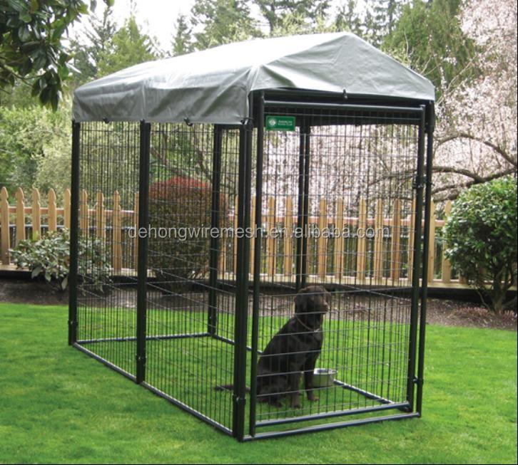 m tal grande acier chien maison chien cage chien chenil gros iso9001 cage caisse. Black Bedroom Furniture Sets. Home Design Ideas