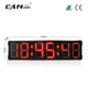"[GANXIN]8"" 6 Digits Multifunctional Double Side Led Race Timer with Air Case Countdown Count up"