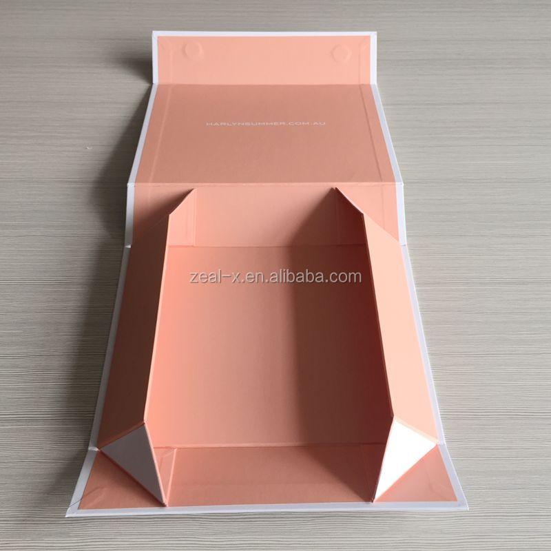 Shenzhen Zeal-x Packing White Box Black Logo Paper Box Packaging ...