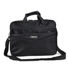 Black Laptop and Tablet Briefcase, Business 15.6 inch Free Sample Laptop Bag