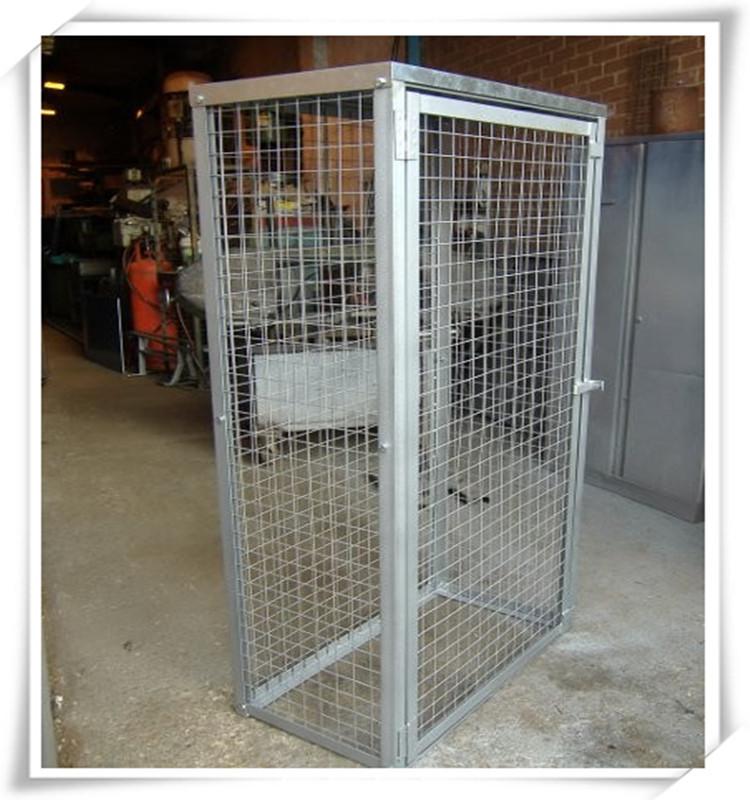Wonderful Alibaba Hot Sale Gas Bottle Metal Wire Mesh Storage Cage