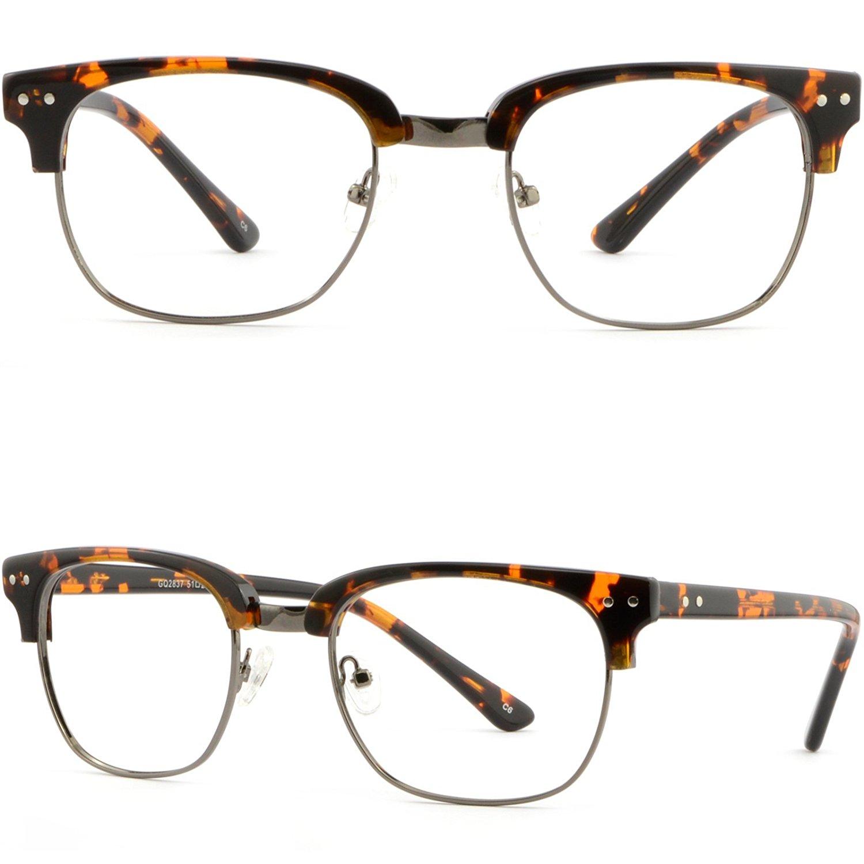 23878e23418 ... Eyeglasses Spring Hinges Tortoiseshell. null. null. Get Quotations · Browline  Plastic Men Women Frame Prescription Glasses Silver Dots Tortoiseshell
