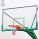 10mm Hot sale Portable training outdoor glass basketball backboard stand with SMC backboard