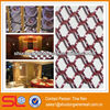 China Hebei 2013 newest fashionable decorative curtain metal fabric for hotel,restaurant room divider