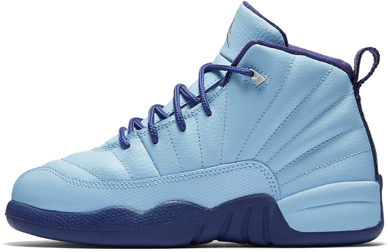 finest selection 6c676 00612 Buy Air Jordan Retro 12 HORNETS GS Youth Big Kids Blue cap ...