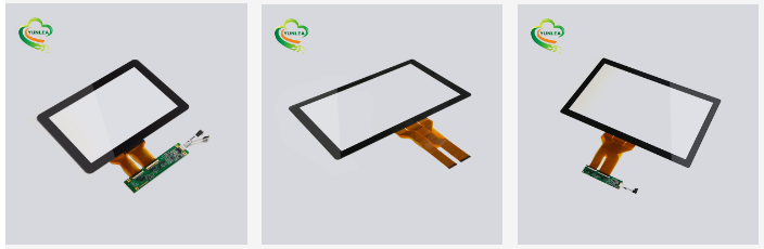 NO MOQ cheap price fast delivery 17 inch kiosk capacitive touch screen panel AG AR AF customized available