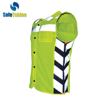 High Vis good quanlity safety reflective running vest