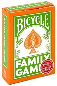 Bicycle Family Games Playing Cards + Book