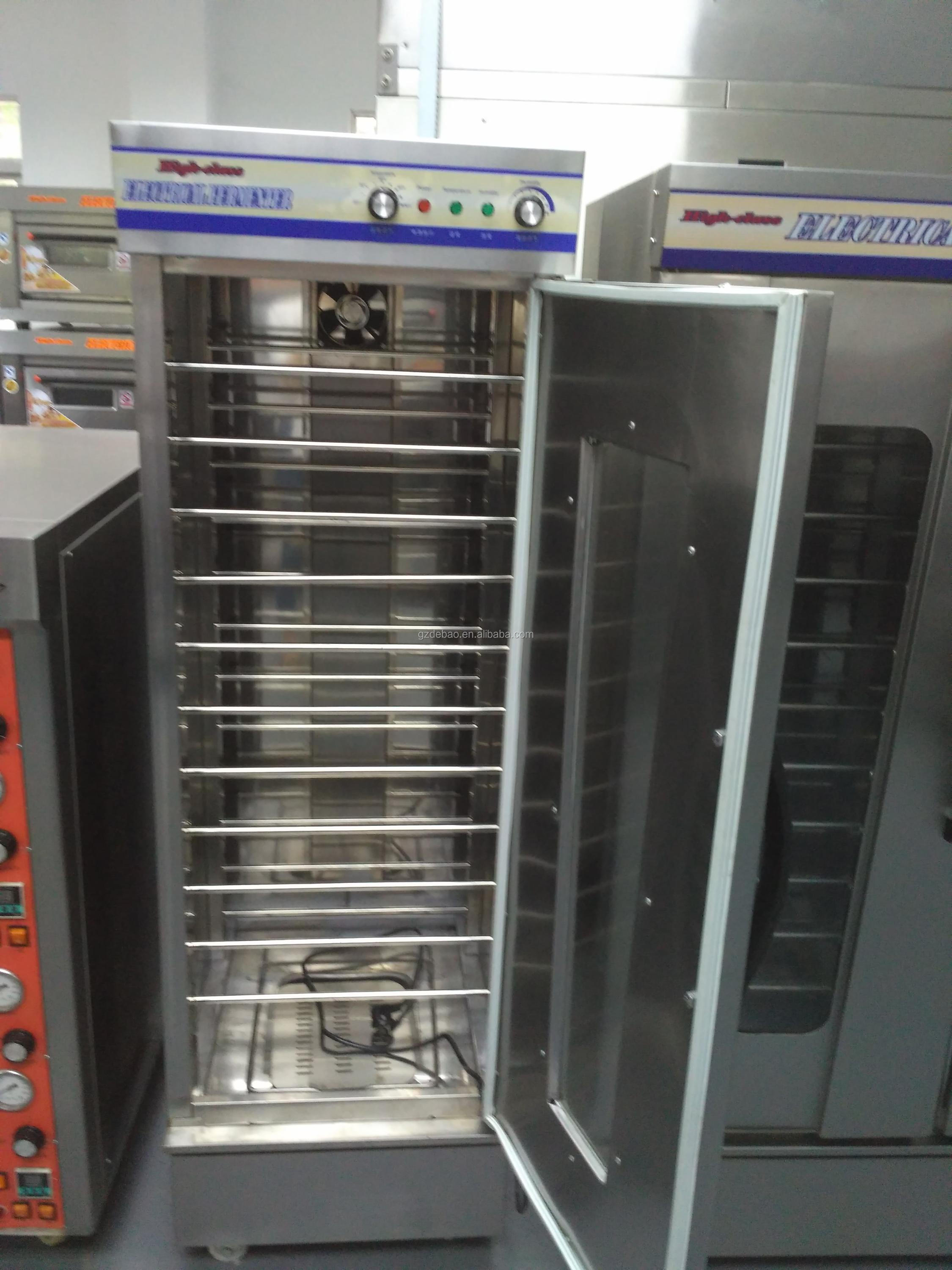 Single or Double Door Bread Fermentation/Dough Proofer/ Bakery Equipment Commercial Electric