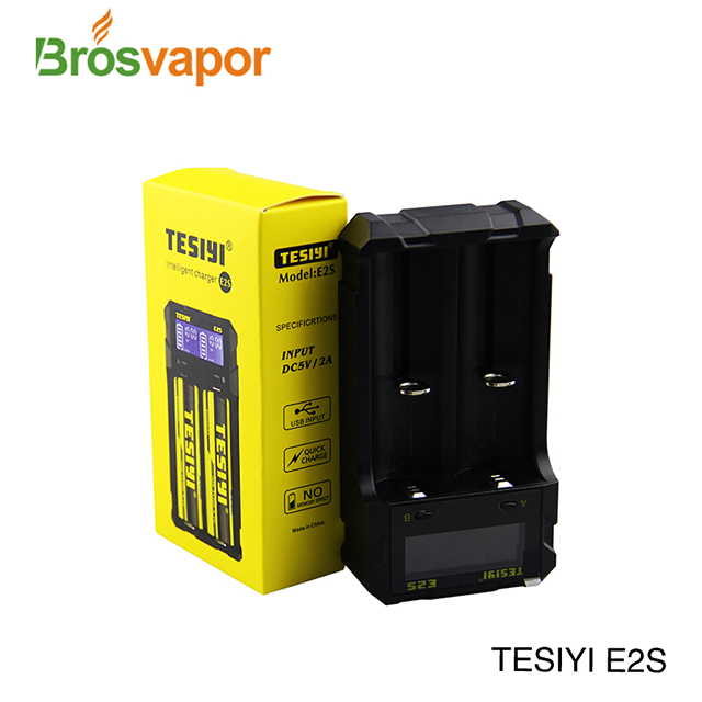Hottest TESIYI E2S Vape Li-ion batteries USB Charger power bank charger
