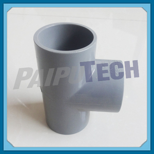 Plastic Pipe Fittings 20mm UPVC T-piece for Water Pipeline